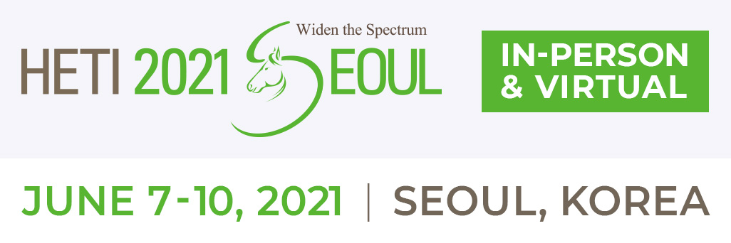 Early Bird Registration Extended – April 24th! HETI 17th International Congress – Seoul 2021